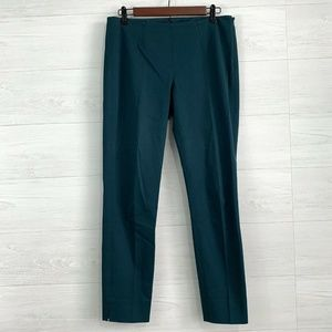Theory Emerald Side Zip Flat Front Ankle Pant